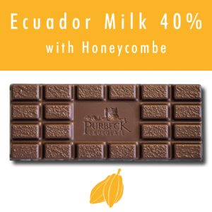 Single Origin Purbeck Milk Chocolate with Honeycombe